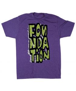 FOUNDATION BLOCKIE PURPLE T-SHIRT
