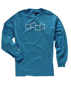 Foursquare Iconology Bluebird Men's Long Sleeve T-Shirt