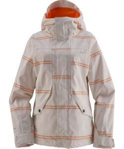 Foursquare Angela Landing Stripe Mont Blanc Women's Snow Jacket