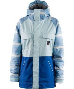 Foursquare Crush True Blue Women's Snow Jacket