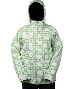 Foursquare Heather Bamboo Wicker Women's Snow Jacket