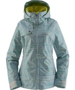 Foursquare Marissa Gridlock Helsinki Blue Women's Snow Jacket