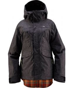 Foursquare Tobin Blackout Women's Snow Jacket