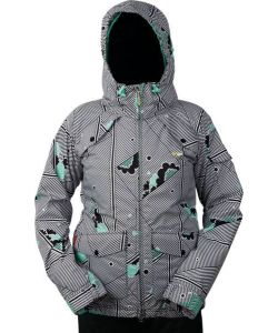 Foursquare Tobin Cloudy Daze Women's Snow Jacket