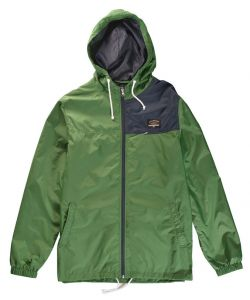 Fourstar Atlas Deep Kelly Windbreaker