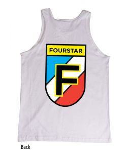 Fourstar Badge White Ανδρικό Αμάνικο