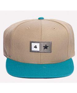 Fourstar Bar Snap-Start Deep Olive Grey Hat