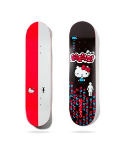 GIRL BRANDON BIEBEL HELLO KITTY SANRIO 8.125 SKATE DECK