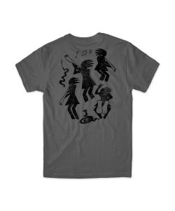 Girl Kokopelli Charcoal Ανδρικό T-Shirt