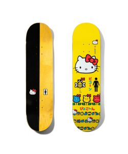 GIRL MIKE MO HELLO KITTY 8.25 SKATE DECK