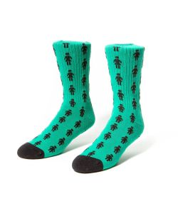 Girl Pepper Teal Socks