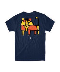 Girl Pictograph Navy Ανδρικό T-Shirt