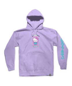 Girl Sanrio Kitty Pullover Lavander