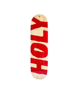 HOLY OG LOGO RED SKATE DECK