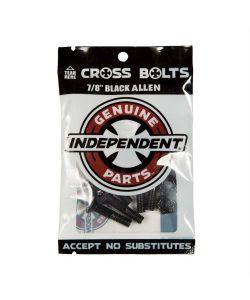 Independent Genuine Parts 7/8 in Phillips Hardware Black/Silver Pk/8