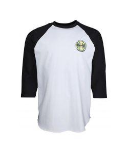 Independent 3/4 Custom Top Converge Baseball Black White Ανδρικό Ράγκλαν