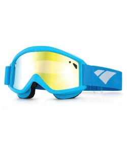 IS EYEWEAR STAPLE CYAN GOLD MIRROR ROSE GOGGLES