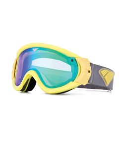Is Eyewear Type-R Gloss Yellow Emerald Mirror Violet Goggle