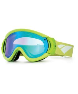 IS Eyewear TYPE-R GREEN BLUE MIRROR VIOLET GOGGLES