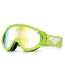 Is Eyewear Type-R Green Gold Mirror Rose Goggles