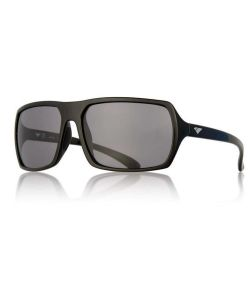 IS EYEWEAR CAPTAIN GLOSS BLACK SMOKE SUNGLASSES