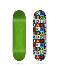 "Jart Scrabble 8.0"" HC Skate Deck"