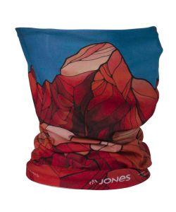 JONES ANDES RED NECKWARMER
