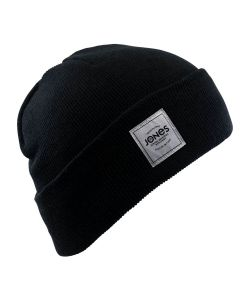 Jones Baker Black Beanie