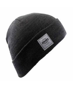 Jones Baker Heather Charcoal Beanie