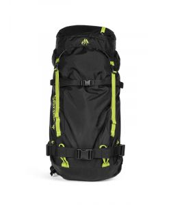 JONES MINIMALIST 45L BLACK LIME BACKPACK