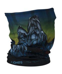 JONES MOUNTAIN WOLF BLUE NECKWARMER