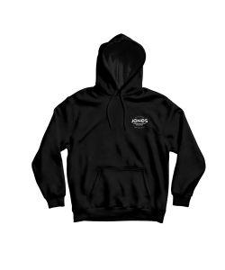 Jones Riding Free Black Men's Hoodie