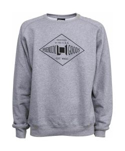 L1 BADGE CREW HEATHER GREY ΦΟΥΤΕΡ