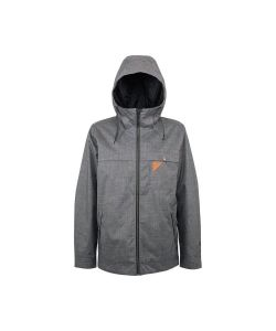 L1 Barstow Dark Grey Men's Snow Jacket