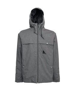 L1 Barstow Dark Grey Men's Snow Jacket