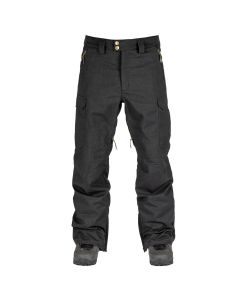 L1 Brigade Black Men's Snow Pants