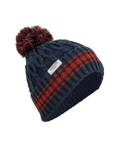 L1 Brat Checker/Black Women's Beanie