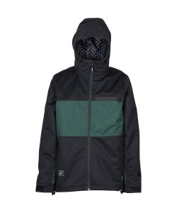 L1 Hasting Black Emerald Men's Snow Jacket