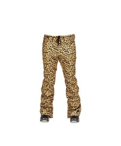 L1 Heartbreaker Twill Cheetah Women's Snow Pants