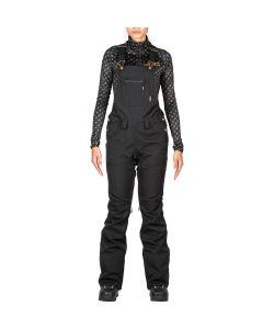 L1 Loretta Overall Black Γυναικείο Παντελόνι Snowboard