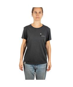 L1 Lotus Vintage Black Women's T-Shirt