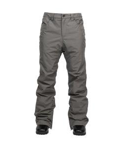L1 Slim Chino Basic Dark Grey Ανδρικό Παντελόνι Snowboard