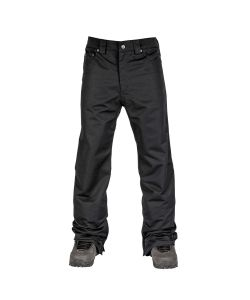 L1 STRAIGHT STANDARD BLACK SNOW PANT