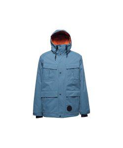 L1 Sutton Grey-Blue Men's Snow Jacket