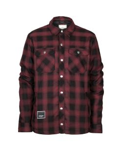 L1 Westmont Wine Flannel Midlayer