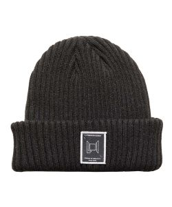 L1 Wordmark Black Beanie