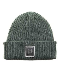 L1 Wordmark Emerald Beanie