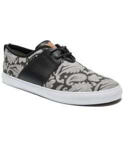 Lakai Albany Echelon Swanski Black/Grey Canvas Men's Shoes