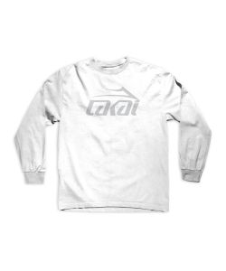 Lakai Basic White Men's Long Sleeve T-Shirt