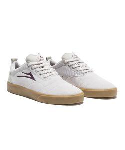 Lakai Bristol White Gum Suede Men's Shoes